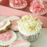 仿真櫻花紙杯蛋糕 家居店鋪軟裝小擺件 日繫小物搭配INS風格歐歐