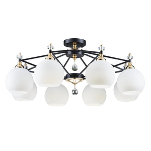 【大巨光】現代風8燈半吸頂燈-大(BM-20881)W950mmXH380mm