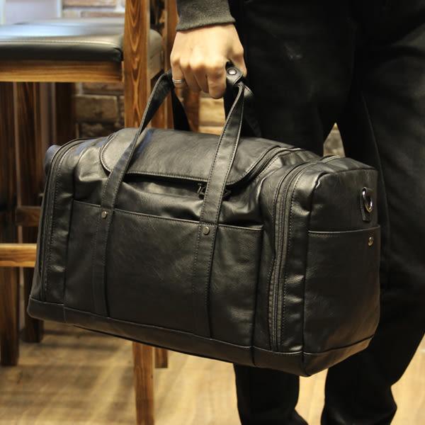 大容量側背手提包 男旅行包【非凡上品】x479