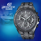 CASIO 卡西歐 手錶專賣店 國隆 EDIFICE EFR-552GY-8A 三眼賽車男錶 深灰色錶面 防水100米