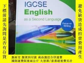 二手書博民逛書店IGCSE罕見English as a Second Langu