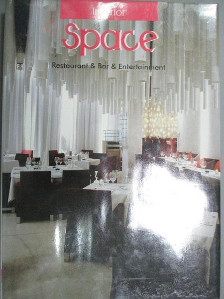 【書寶二手書T7/設計_GGC】Restaurant & bar & entertainment