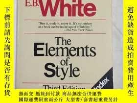 二手書博民逛書店The罕見Elements of Style 風格 素 英文原版