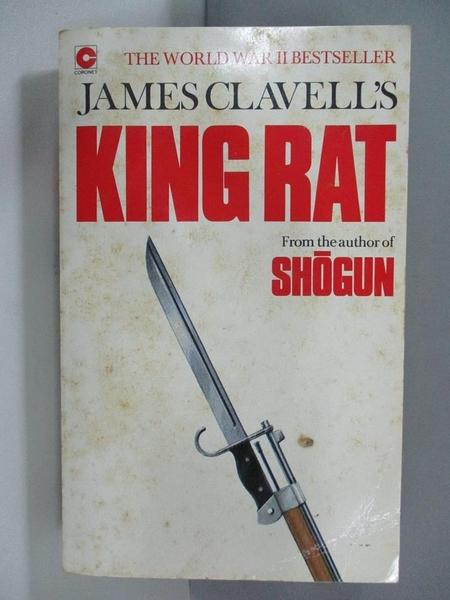 【書寶二手書T2/原文小說_ARD】King Rat : The Fourth Novel of the Asian Saga_James Clavell