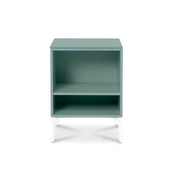 Montana Stay Side Table with Glasstop 停留系列 邊桌&立式收納櫃(含雙層收納&玻璃檯面)