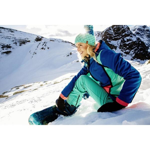 PROTEST 女 機能防水保暖外套 (寶石藍) STUNNING SNOWJACKET