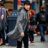 西裝外套-時尚有型英倫風帥氣長版大衣72p30【巴黎精品】