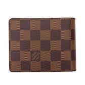 Louis Vuitton LV N61208 Slender 棋盤格紋雙折短夾 現貨  全新 現貨【茱麗葉精品】