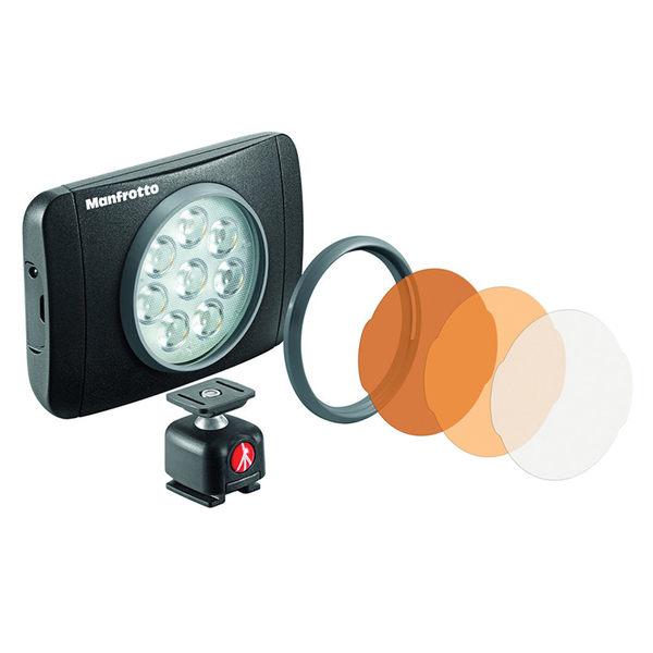 ◎相機專家◎ Manfrotto LUMIMUSE 8 LED 補光燈 LED燈 MLUMIEMU-BK 公司貨