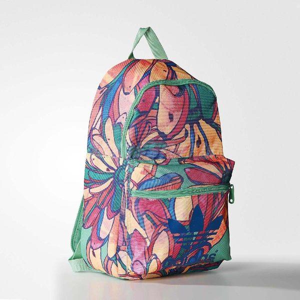 adidas 後背包 Bananas Backpack 彩色 三葉草 聯名系列 女款 包包 【PUMP306】 AJ8517