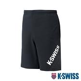 【超取】K-SWISS Slope KS Logo Shorts運動短褲-男-黑