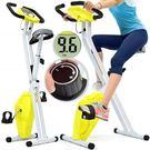 黃精靈X折疊健身車.室內腳踏車.摺疊美腿機.單車-BIKE自行車訓練機台.運動健身器材SPEED