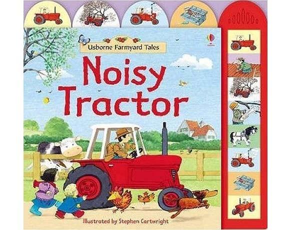 Noisy Tractor 轟隆轟隆的拖拉機 精裝硬頁有聲書