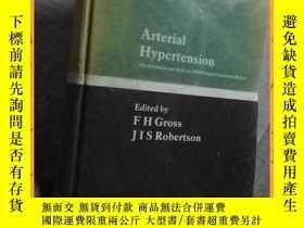 二手書博民逛書店英文書罕見arterial hypertension the gestation and birth of a W