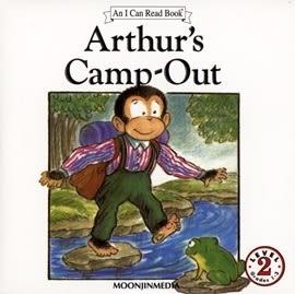 〈汪培珽英文書單〉〈An I Can Read系列:Level 2)  ARTHUR'S CAMP-OUT/ (單CD)