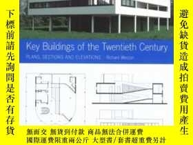 二手書博民逛書店Key罕見Buildings Of The Twentieth CenturyY364682 Richard