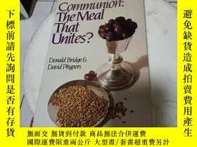 二手書博民逛書店Communion,罕見the meal that unites