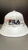 FILA 時尚筒帽 白款 HTV-5204-WT 【KAORACER】
