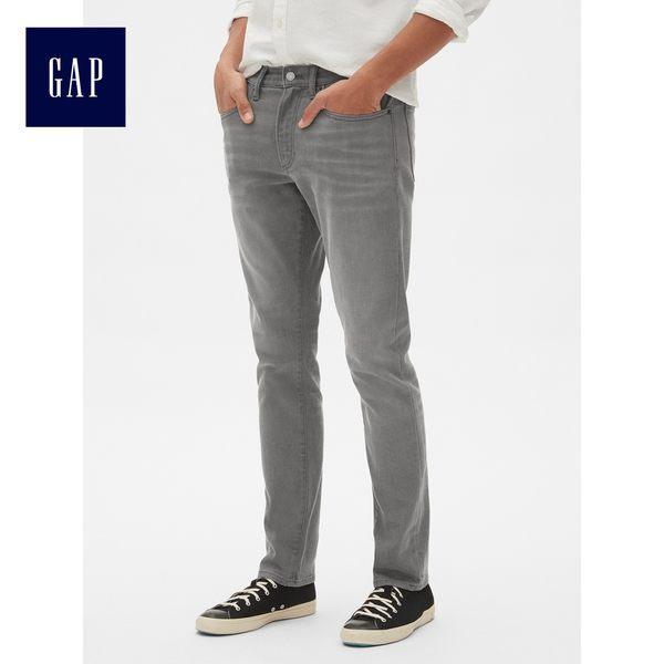 Gap男裝 氣質修身彈力牛仔褲 440707-藍灰色