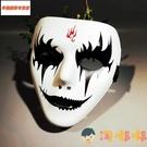 萬聖恐怖微笑面具具男小丑男女全臉黃金成人鬼臉【淘嘟嘟】