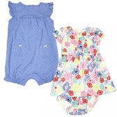 Carter s 短袖洋裝套裝 連身裙+兔裝+內褲三件組顏色 女寶寶【CA118A093】