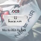 NIKE 腰包 Air Tech Hip Pack 灰 黑 男女款 斜背包 外出 隨身小包【ACS】 DC7354-025