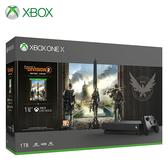 【Microsoft 微軟】Xbox One X 1TB《湯姆克蘭西:全境封鎖 2》同捆組