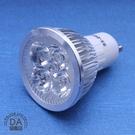 4LED 燈泡 GU10 4W 白光 110V 杯燈 投射燈 軌道燈 崁燈 省電燈泡 (78-1078)