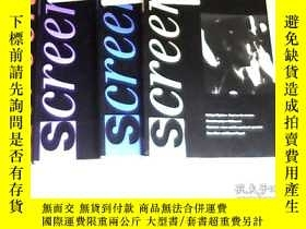 二手書博民逛書店screen:volume36number罕見1994(1、2、