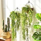 店鋪墻面陽臺臥室裝飾品墻上歐式服裝店墻壁植物壁掛墻飾掛件創意  無糖工作室