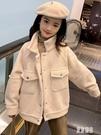 女童加絨外套可愛新款秋洋氣童裝中時尚衣服兒童秋裝小女孩上衣潮 OO36『東京潮流』