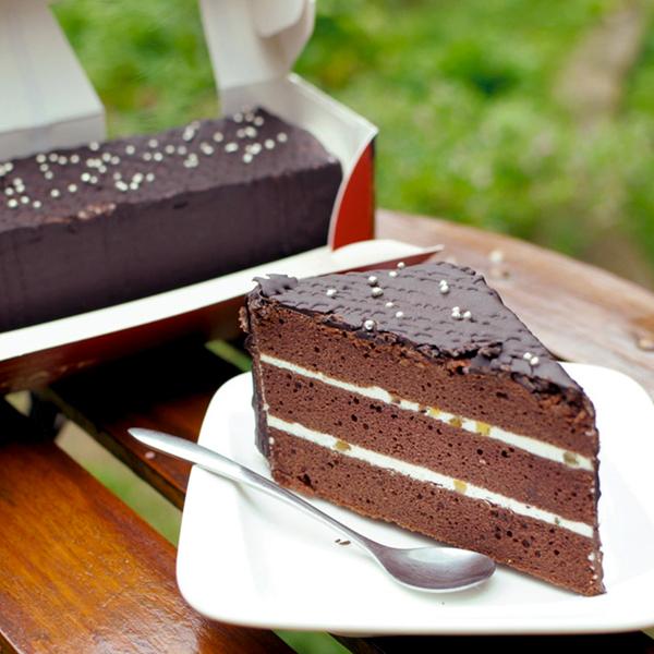 濃情脆皮巧克力糕 450g/ 盒裝 愛家純素美食 全素蛋糕 素食誕糕 生日旦糕 Vegan