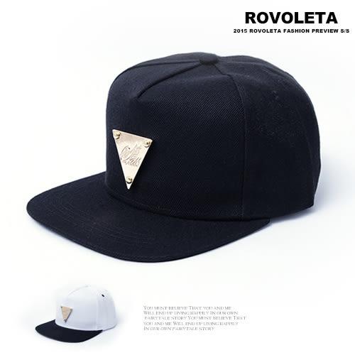 三角金片棒球帽.潮流.型男【BY-01】