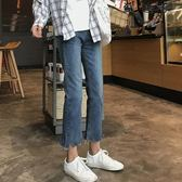 【全館8折】直筒褲新款女牛仔褲九分褲長褲