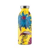 義大利 24Bottles 不鏽鋼雙層保溫瓶 500ml - 點翠菊
