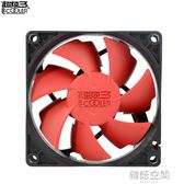 旋風F82Y 8cm靜音CPU風扇電腦CPU散熱器8釐米機箱電源風扇 韓語空間