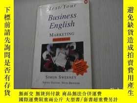 二手書博民逛書店Test罕見Your Business English Mark