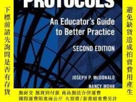 二手書博民逛書店The罕見Power Of ProtocolsY256260 Joseph P. Mcdonald Teach