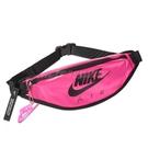 Nike 腰包 NSW Heritage Hip Pack 桃紅 黑 男女款 螢光色 斜背包 運動休閒 【PUMP306】 CW9259-607