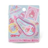 《Sanrio》美樂蒂繽紛文具第六彈-迷你修正帶(郵票)★funbox生活用品★_UA48713