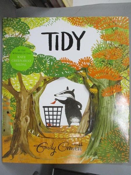 【書寶二手書T6/少年童書_QHR】Tidy_Emily Gravett