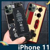 iPhone 11 Pro Max 復古偽裝保護套 軟殼 懷舊彩繪 計算機 鍵盤 錄音帶 矽膠套 手機套 手機殼