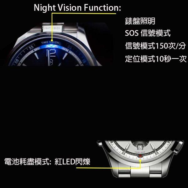 【萬年鐘錶】瑞士VICTORINOX 維氏 Night Vision LED照明運動錶 黑色橡膠帶 VISA-241596