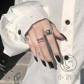 食指時尚個性女士戒指風開口可調節愛心【小酒窝服饰】