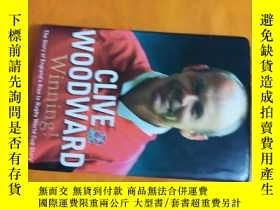 二手書博民逛書店CLIVE罕見WOODWARD Winning!Y20850 看