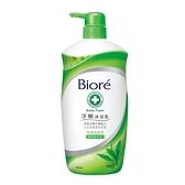 蜜妮Biore淨嫩沐浴乳-抗菌清爽型-潔淨綠茶香1000g【愛買】