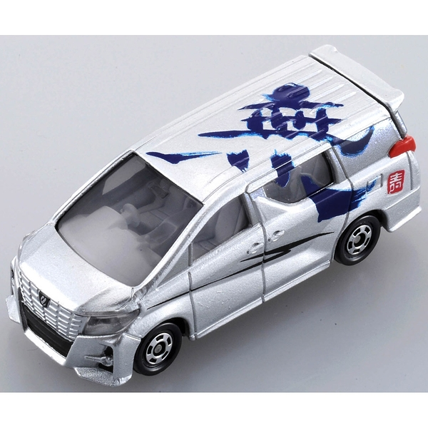 TOMICA 2019新年車 吉川書法系列 無 TM61446 銀色多美小汽車