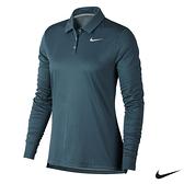 Nike Golf 女 運動高爾夫球長袖上衣 -藍 929536-357