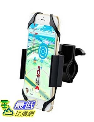 [美國直購] Metal Bike Mount, Ipow Heavy Duty Cellphone Bike Holder Cradle For Iphone 6S 6 Plus/6S/65s/5c/4s 自行車支架