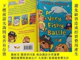 二手書博民逛書店A罕見Very Fishy Battle: 非常可 疑的戰鬥Y200392